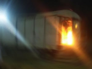 Siirt'te yük trenine bombalı saldırı