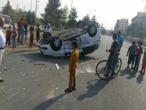 Batman'da yaralanmalı trafik kazası