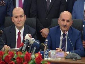Süleyman Soylu Çalışma Bakanlığı görevini devretti