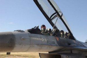 Hava Kuvvetleri Komutanı Abidin Ünal Eskişehir'e F-16 ile geldi