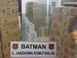 58 bin paket kaçak sigara yakalandı!