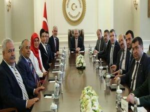 Başbakan Yıldırım, Kızılay heyetini kabul etti