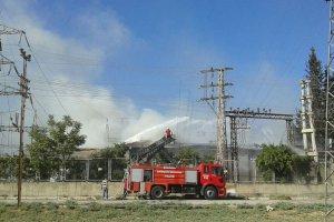 Trafoda oluşan yangın 3 ilçeyi elektriksiz bıraktı