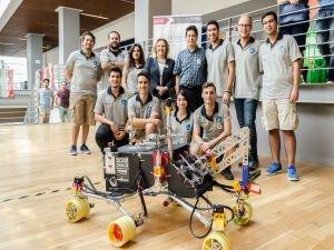 Özyeğin Üniversitesi Öğrencilerinden Mars Robotu