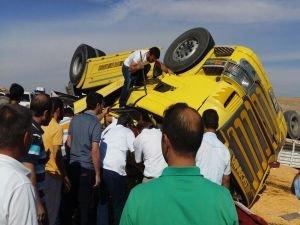 Şanlıurfa-Gaziantep Karayolu'nda korkunç kaza!
