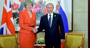 Putin ve İngiltere Başbakanı May ilk defa görüştü