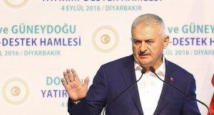 Yıldırım, Diyarbakır'da 'çözüm' için adres gösterdi: Milletin ta kendisi