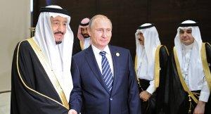 Putin: Suudi Arabistan'la işbirliğimizi arttırmayı istiyoruz