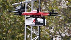 Drone festivali renkli görüntülere sahne oldu
