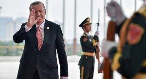 Cumhurbaşkanı Erdoğan, Avrupalı liderlerle Çin'de bir araya geldi