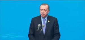 Cumhurbaşkanı Erdoğan Çin'de önemli mesajlar verdi