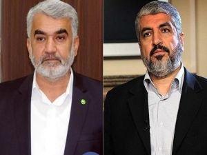 Yapıcıoğlu'ndan HAMAS lideri Halid Meşal'e taziye telefonu