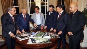 Başbakan Yıldırım, TOKİ Başkanı ve Göztepe kulübü heyeti'ni kabul etti