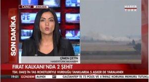 TSK: Fırat Kalkanı'nın 14. gününde 2 asker şehit oldu