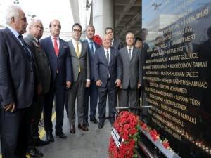 Atatürk Havalimanı saldırısında şehid olanlar için anıt!