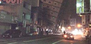 Tayvan Pingdong'da 6,4 şiddetinde deprem