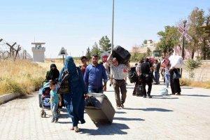 Suriyeliler, Cerablus'a dönmeye başladı