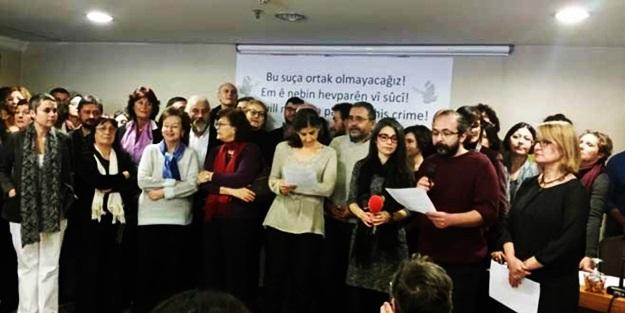 Akademisyenler PKK nın azmettiricisi