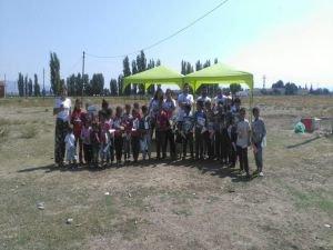 Bilim Tohumları Ekibi Eskişehir'de çocuklarla buluştu