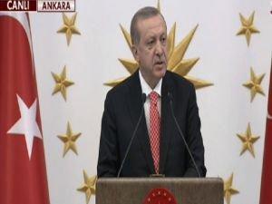 """Cumhurbaşkanı Erdoğan: """"15 Temmuz İşgal Girişimidir"""""""