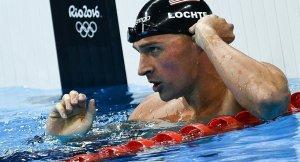 'Yalancı' Lochte, yüzme müsabakalarından 10 ay men edildi