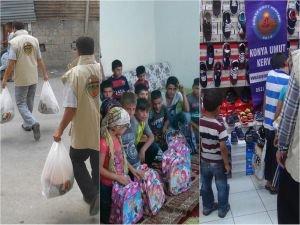 İslami STK'lardan Yardım Faaliyeti!
