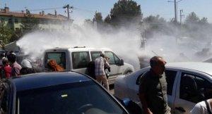 Diyarbakır'da öğretmenlerin protestosuna polis müdahale etti