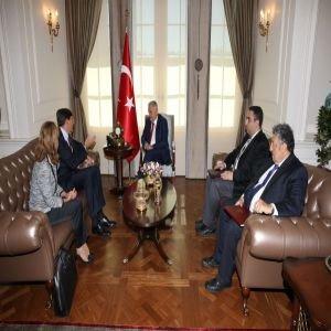 Başbakan Yıldırım, Vodafone heyetini kabul etti