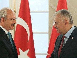 Başbakan Yıldırım'dan Kılıçdaroğlu'na tebrik