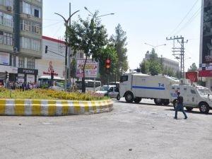 Batman'da 'Kayyum' protestosuna polis müdahalesi
