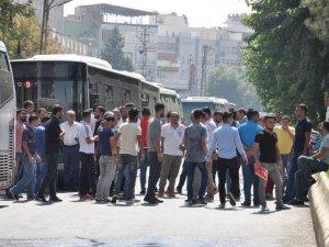Batman'da Kayyumu protesto eden HDP'lilere müdahale