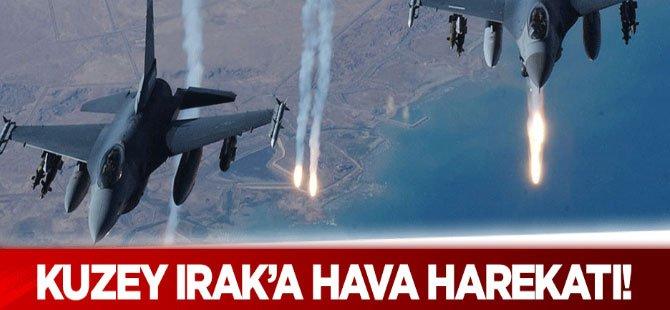 Zap'ta hava harekatı: 5 PKK'lı öldürüldü