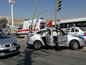 Gaziantep'deki kazada 7 kişi yaralandı
