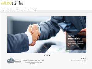 EİB'nin yürütttüğü  Mikro Eğitim Projesi'nin web sayfası yenilendi