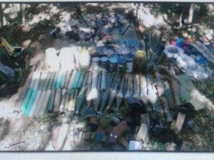 Bitlis'te PKK mühimmatı ele geçirildi
