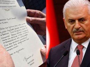 Başbakan Yıldırım'dan şehit ailelerine mektup