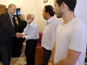 Erdoğan'dan 15 Temmuz şehidinin ailesine bayram ziyareti