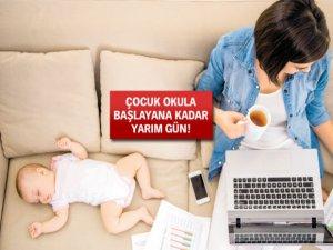 Çalışan anne babalara müjde!
