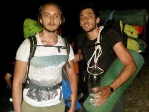 Kazdağları'nda mahsur kalan 2 dağcı kurtarıldı