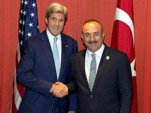 Çavuşoğlu'ndan Kerry ile önemli görüşme