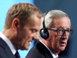 AB Komisyonu Başkanı Juncker'den önemli açıklamalar