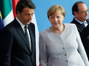 AB liderler zirvesine Renzi'nin protestosu damgasını vurdu