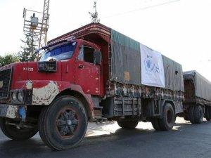 BM'den yardım konvoyuna tepki!