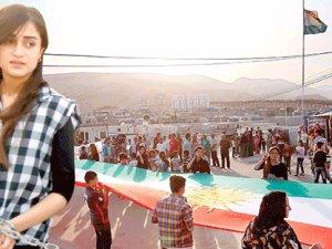 Kürtlerden PYD'ye karşı isyan