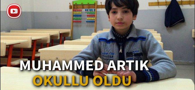 Artık çalışmayan Suriyeli'nin okullu oldu