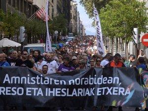 Festival'de 'ETA mahkumlarına özgürlük' protestosu