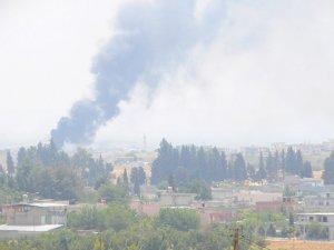 IŞİD mevzileri havadan ve karadan vuruluyor