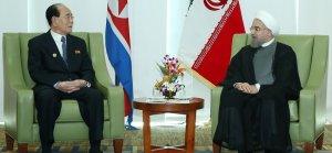 Ruhani, Kim Yung Nam ile görüştü