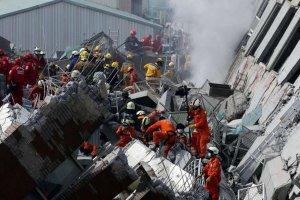 Tayvan'daki depremde ölü sayısı yükseliyor