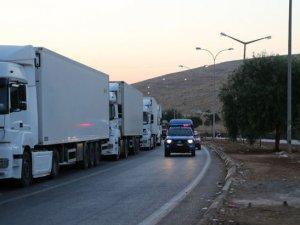 Suriye rejimi, Halep'te yardım konvoyuna saldırdı